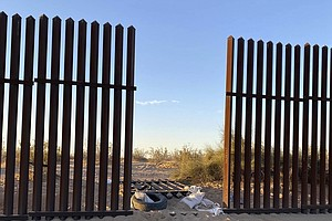 Photo for SUV In Deadly Imperial Valley Crash Came Through Hole In Border Fence