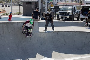 Photo for Extreme Wheelchair Skating In The Works For Upcoming Fallbrook Skate Park