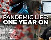The KPBS Pandemic anniversary graphic is pictur...