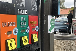 Photo for San Diego County Average Gas Price Rises For 40th Consecutive Day