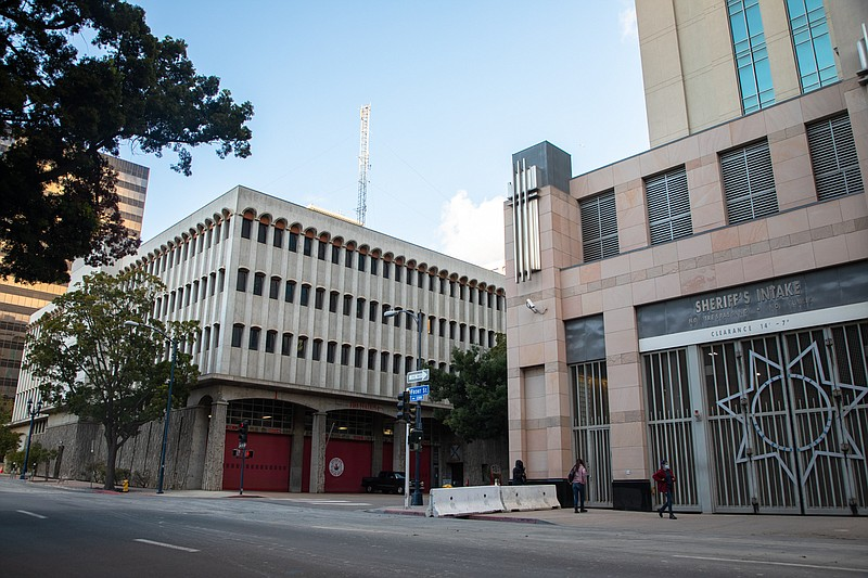 The San Diego Central Jail is shown on March 11, 2021.