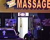 Authorities investigate a fatal shooting at a m...