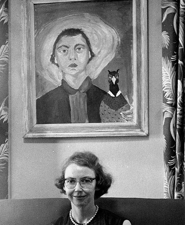Flannery O'Connor (undated photo)