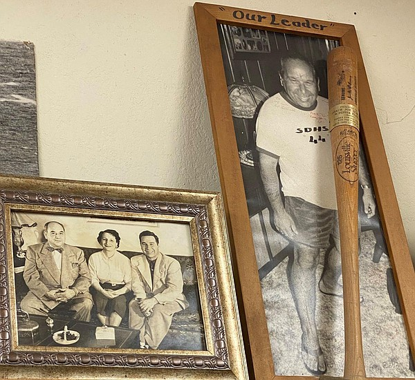 Photos hang on the walls of A&B Sporting Goods in North P...