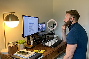 Photo for Pandemic Expected To Bring Increase In Remote Work, But Not Huge Shift
