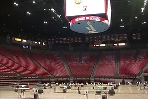 Photo for San Diego State To Open COVID-19 Vaccine Site In Viejas Arena Tuesday
