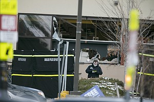 Photo for Officials: Gun In Supermarket Shooting Bought 6 Days Earlier