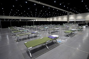 Photo for Migrant Shelter Nearing Capacity At SD Convention Center