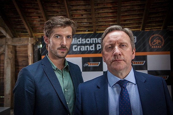 DS Charlie Nelson and DCI John Barnaby in a scene from