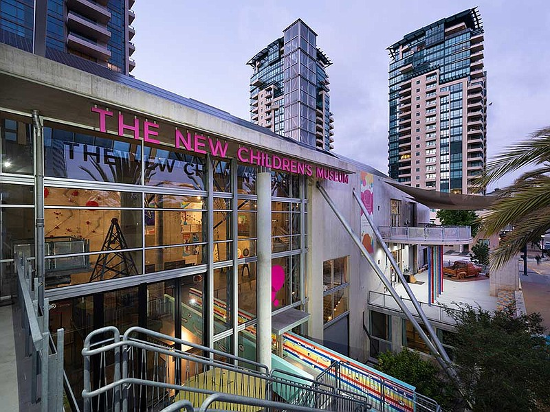 The New Children's Museum in San Diego announced on Mar. 29, 2021 that the mu...