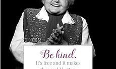 """""""Be kind. It's free and it makes the world bett..."""