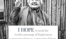 """""""I hope to send the world a message of forgiven..."""