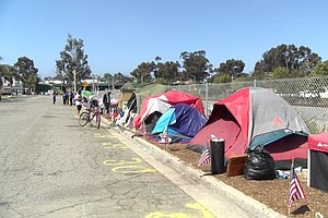 Oceanside Homeless Encampment Given More Time Before Getting Forced Out
