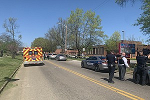 Photo for Police: Officer Wounded, 1 Dead In Tennessee School Shooting