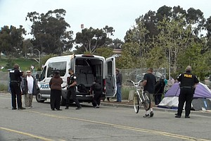 Photo for Majority Of Oceanside Homeless Encampment Cleared Out
