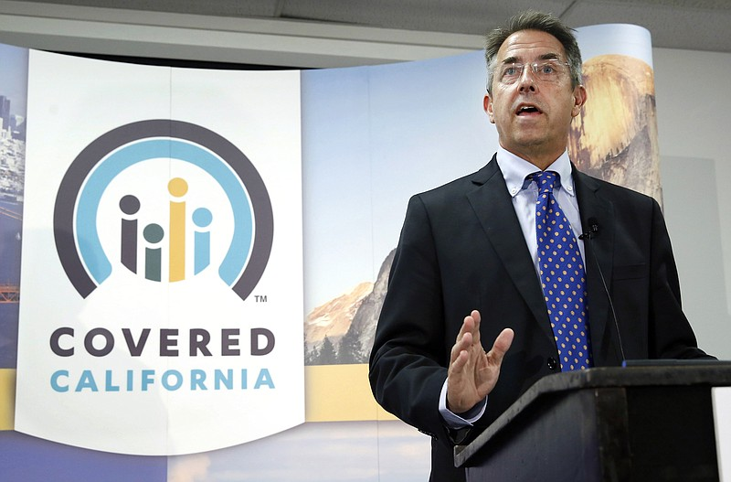 Peter Lee, executive director of Covered California, the state's health insur...