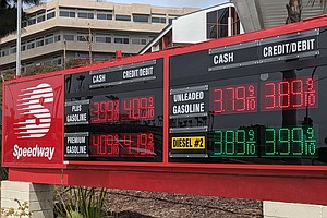 Photo for Food, Gas And Housing Prices Up