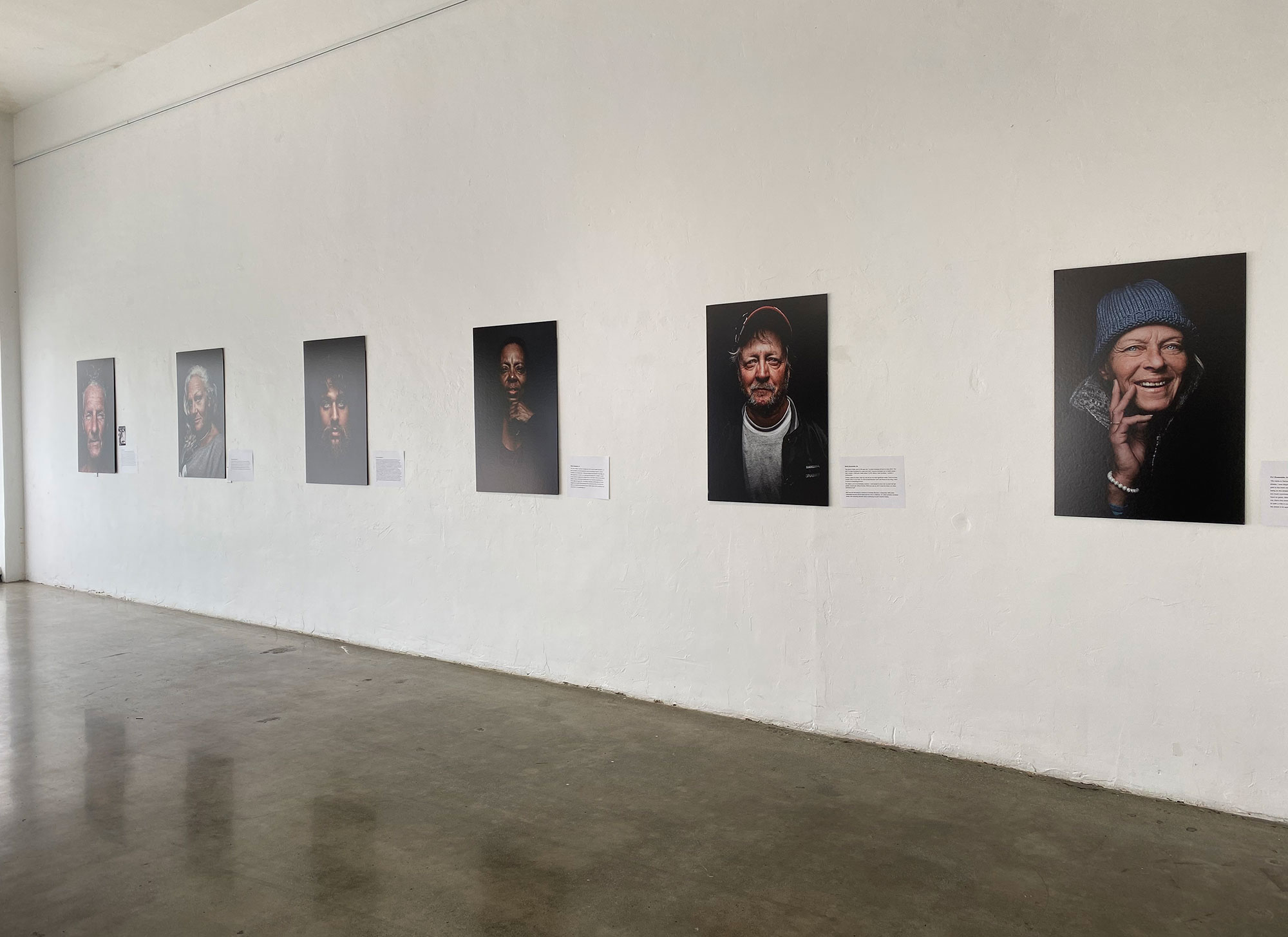 Art Exhibition Shares Portraits, Stories Of The Unsheltered In Oceanside