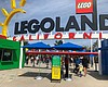The Legoland entrance is pictured, April 15, 20...