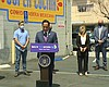San Diego Mayor Todd Gloria holds a press confe...