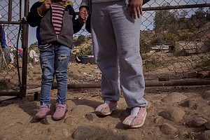 Photo for Left With Nothing By Biden Administration, Migrant Families In Tijuana Face A...