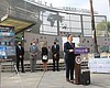 San Diego Mayor Todd Gloria announcing expanded...