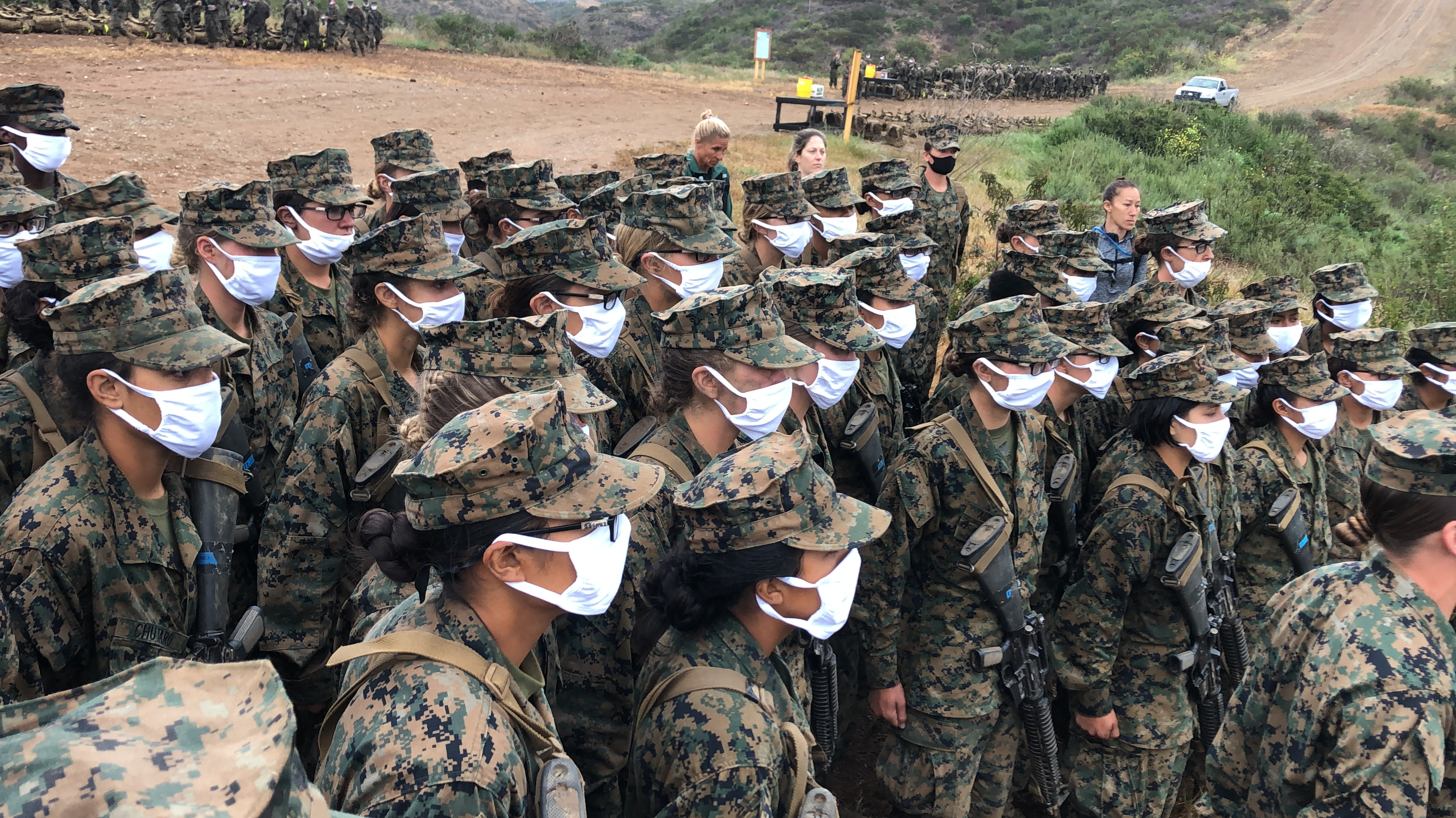 Roundtable: Women Become Marines In San Diego