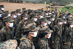 Photo for Roundtable: Women Become Marines In San Diego