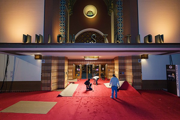 Preparations continue for the 93rd Oscars® on Saturday, A...