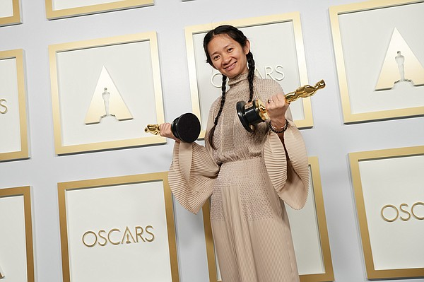 Chloe Zhao made Oscar history by becoming the first woman...
