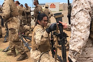 Photo for First Class Of Female Recruits In San Diego History May Be The Last For Now