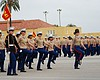 The women of Platoon 3241 march as a unit one l...