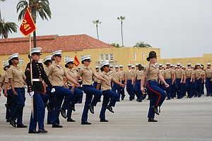 Marines Graduate First Class Of Female Recruits In MCRD History