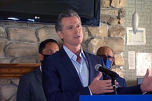 Photo for Facing Recall, Newsom Uses Anti-Tax Amendment For His Own Devices