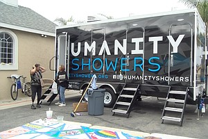 'Humanity Showers' Brings Basic Hygiene To San Diego Homeless Communities