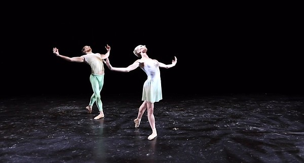 In a still from the 2021 City Ballet production of