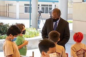 Photo for State Schools Superintendent Thurmond Visits Chula Vista Elementary Schools