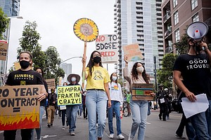 Photo for Climate Advocates Push San Diego's Sempra Energy For Change