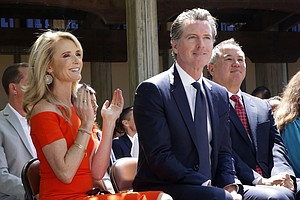 Photo for Newsom's Income Went Up In 1st Year As California Governor