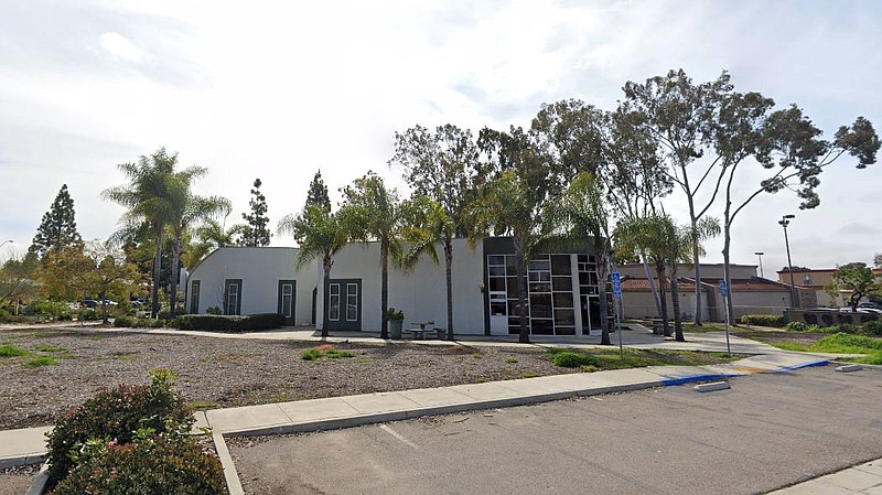 An empty building that formerly housed the Mira Mesa Epicentre, a defunct tee...