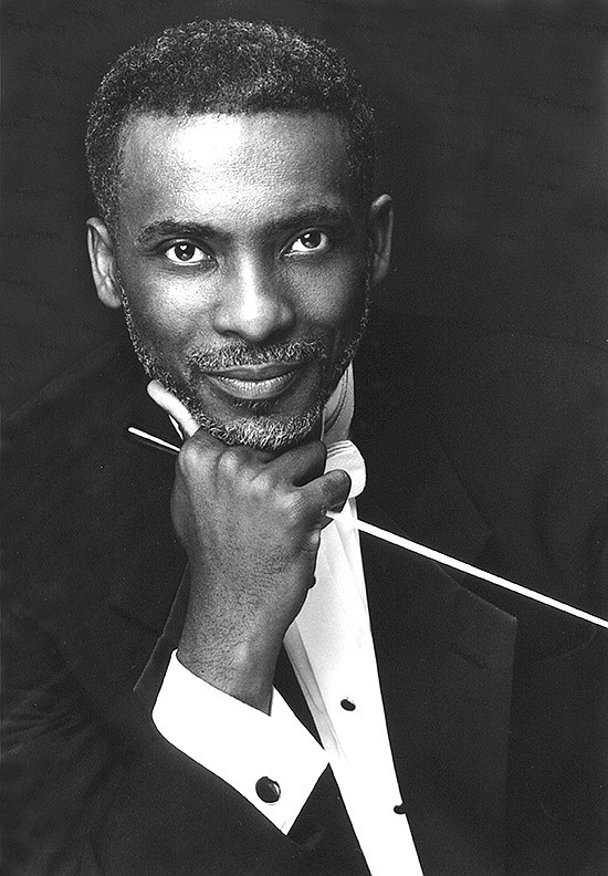 Composer André J. Thomas in an undated photo.