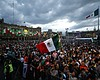 People pack the Zocalo ahead of the annual inde...