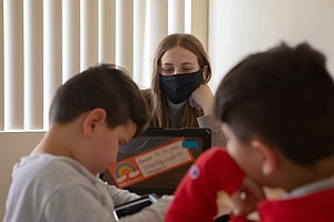 Photo for Digital Equity Gap In Refugee Community Makes Recovering From Pandemic Challe...