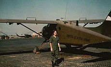 Lt. Diane Carlson flying by Beaver Aircraft on ...