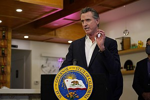 Newsom In Court To Defend Language Tying Recall To The GOP