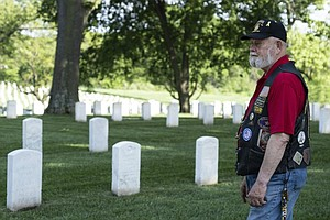 Photo for The VA Is Lifting Restrictions At Cemeteries, But Memorial Day May Not Be Bac...