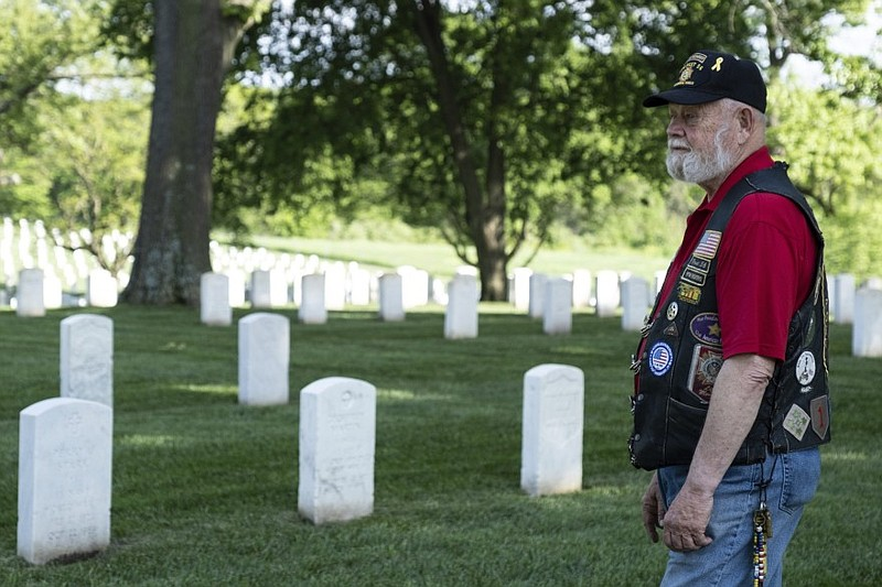 Lynn Rolf Jr., a retired Army colonel, typically spends weeks helping prepare...