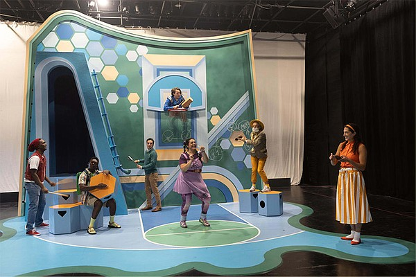 A still from the La Jolla Playhouse POP Tour production o...