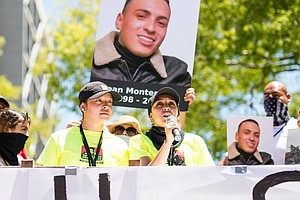 Photo for Families Of Californians Killed By Police Push Bill To Strip Badges From Bad ...