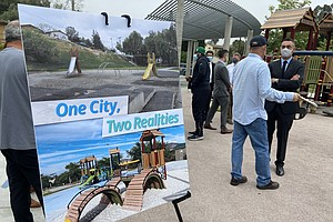 Photo for Mayor Gloria Begins 'Parks For All Of Us' Initiative, Calling For Equity